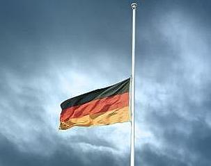 Deutschland auf Halbmast